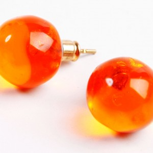 E 0095 ORANGE TRANSPARENT