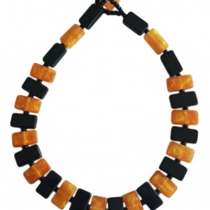 N 0034 BLACK GLOSS AND GOLD SOLID